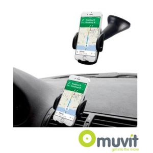 Soporte universal Muvit para el coche o rejilla de ventilación