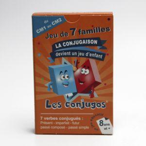 Les conjugos : Jeux de 7 familles, CM1-CM2