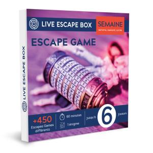 15€ de réduction sur les premiers coffrets cadeaux Escape Game à partir de 90€ d'achat