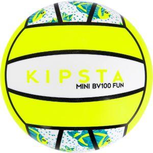 Kipsta : Mini ballon de beach-volley bv100 blanc/jaune