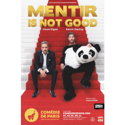Théâtre : Mentir is not good