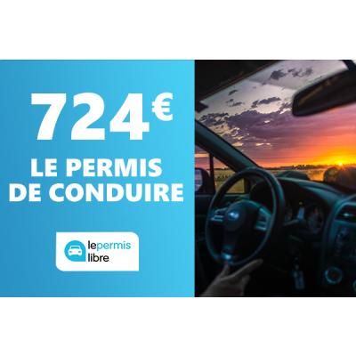 Pack : Code de la route + 20h de conduite à seulement 724€