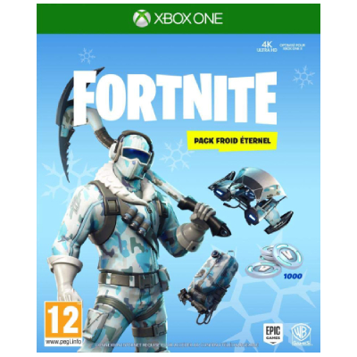 Jeu Video : FORTNITE PACK FROID ETERNEL - XBOX ONE