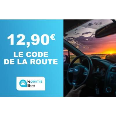 Code de la route à 12,90€ au lieu de 49€