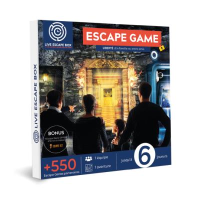 15€ de Réduction Escape Game Liberté en famille ou entre amis