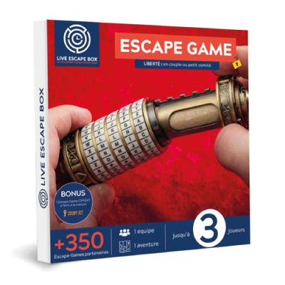 15€ de Réduction Escape Game Liberté : en couple ou petit comité