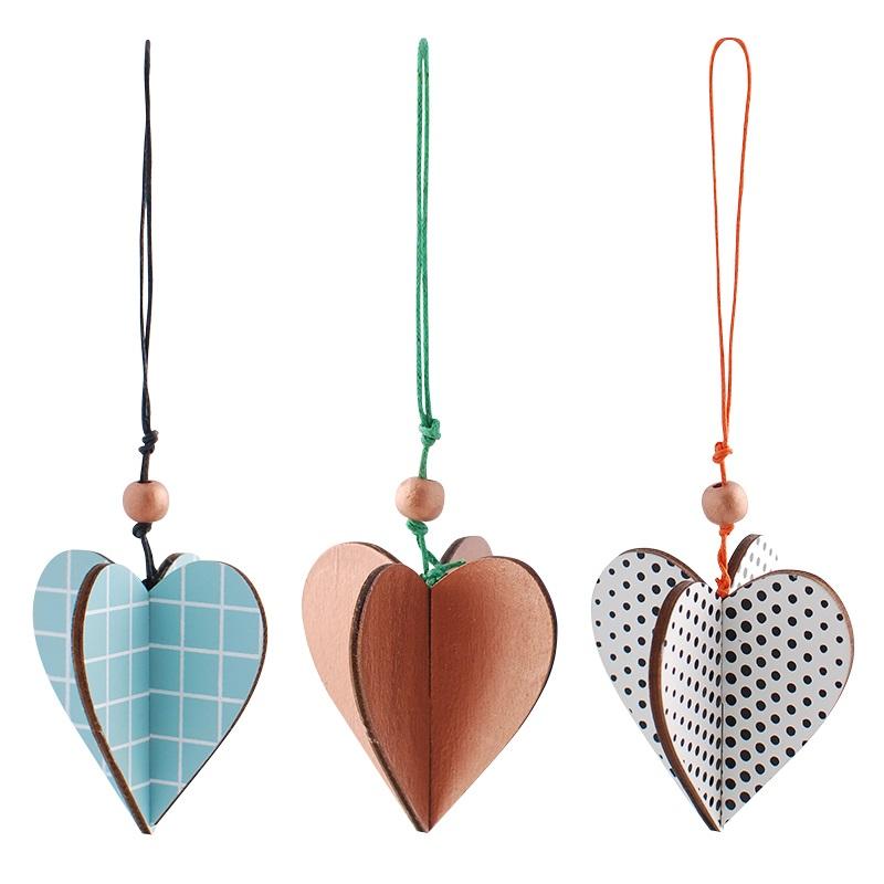 Julepynt - Hanging Hearts