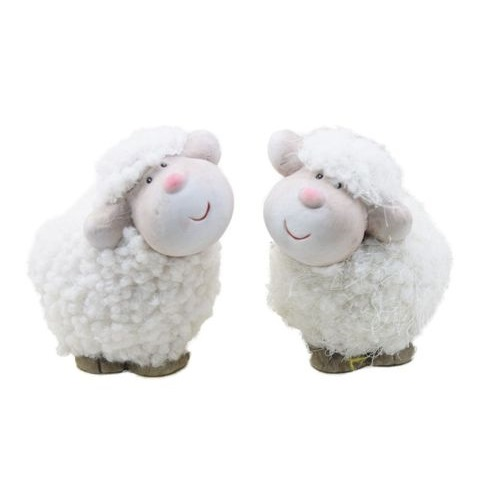 Valkoinen lammas - 9 cm