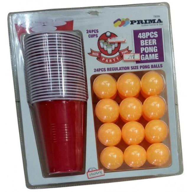 Beer-pong, stort sett