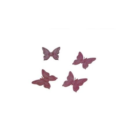 Perhonen - roosa