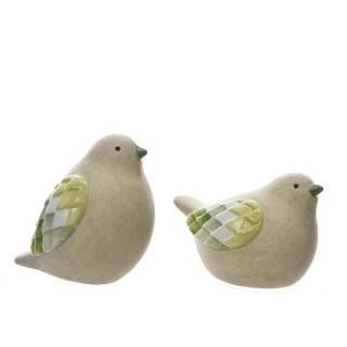 Keramikfåglar - 2 st.