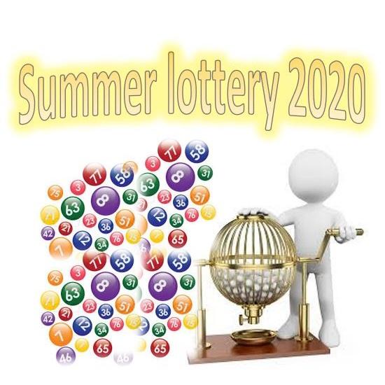 1 lott til det store sommarlotteriet 2020