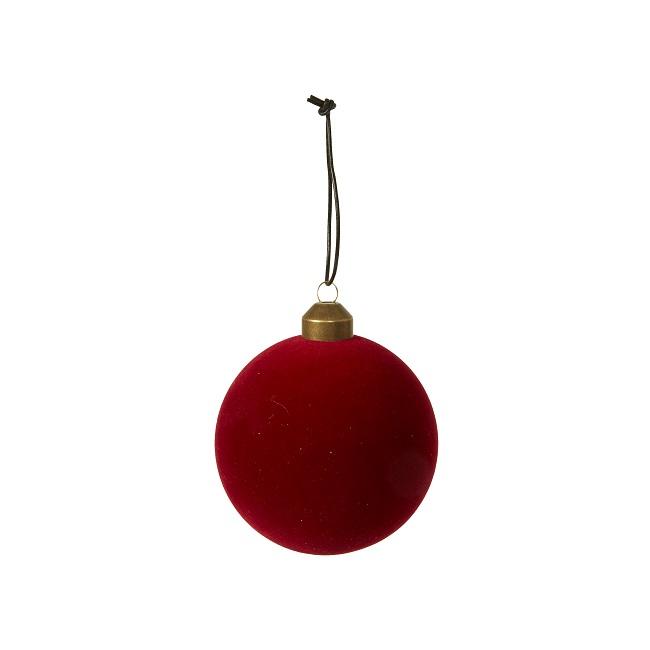 Julekugle - Velour