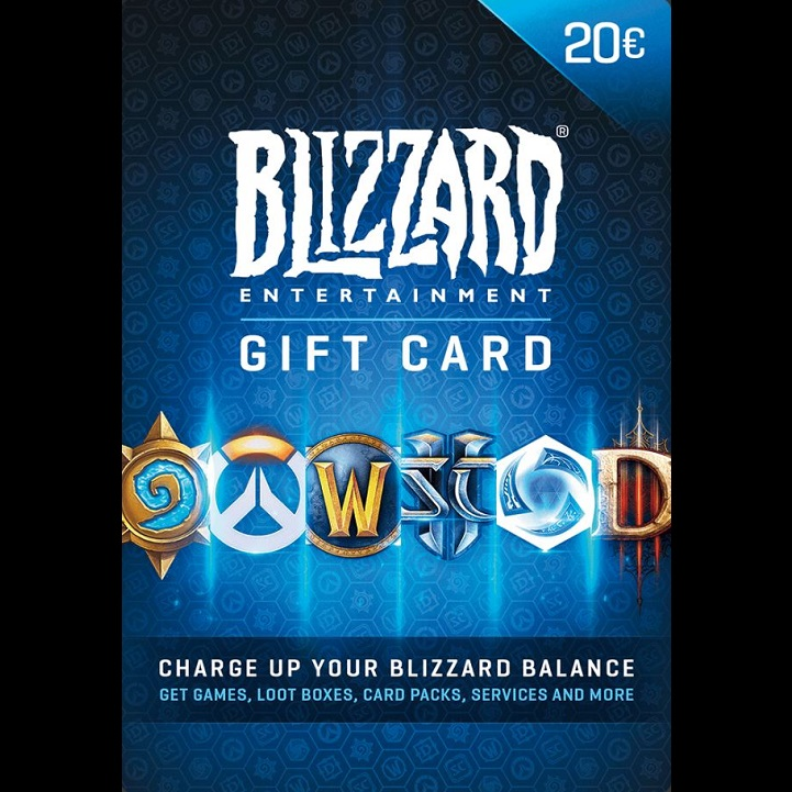 Blizzard  lahjakortti 20€