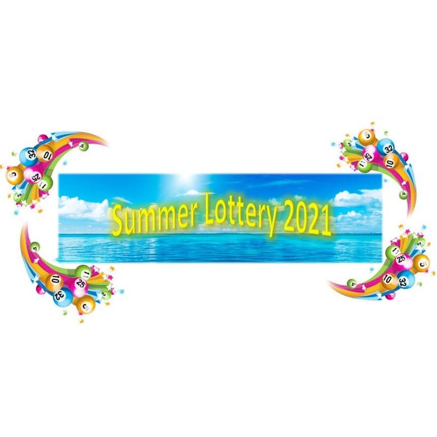 1 lott til det store sommarlotteriet 2021