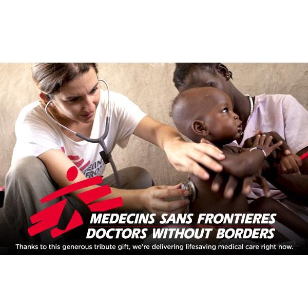 Medecins sans Frontieres -lahjoitus