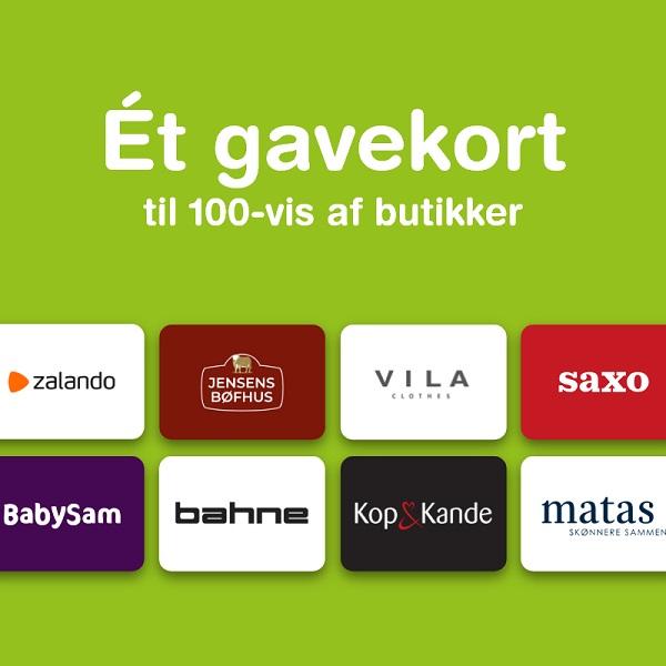 Luksus Gavekortet  - www.sendentanke.dk, DANMARK 100 Dkk.
