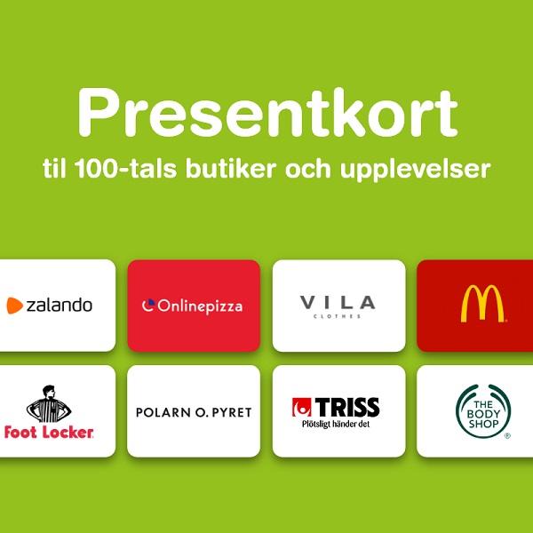 Huuray Presentkort - www.huuray.se, SVERIGE 100 SEK