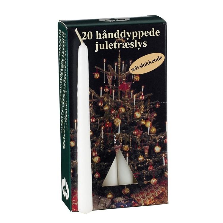 Joulukuusenkynttilät - 20 kpl.