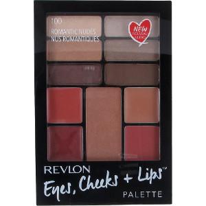 Revlon Eye, Cheeks, Lips Compact Romantic Nudes (100)
