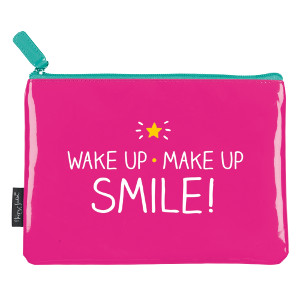'Wake Up Make Up' Make up Bag