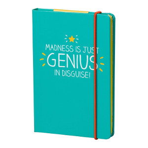 A6 Notebook - Genius