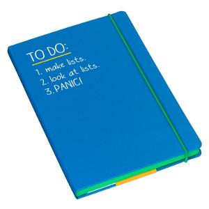 A5 To Do Notebook Blue