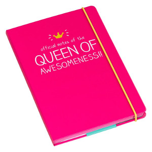 A5 Notebooks- Queen of Awesomeness