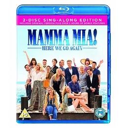 Mamma Mia! Here We Go Again Blu Ray