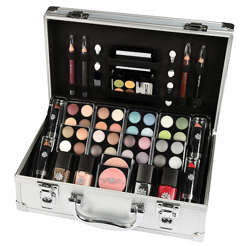 Vanity Case Beauty Cosmetic Set Gift Travel Make Up Box Train Storage 51